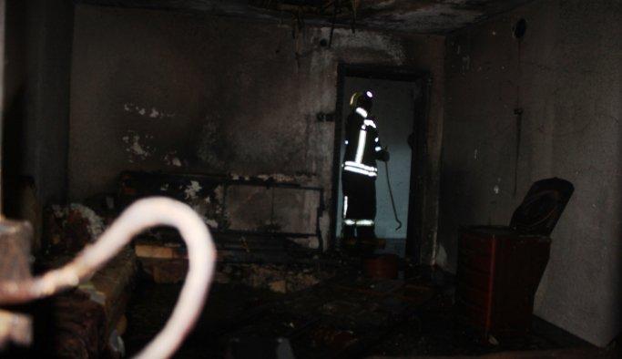 Sobayı tutuşturmak isterken yangın çıkardı: 1 yaralı