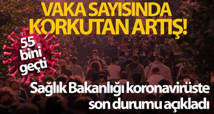 Türkiye'nin son 24 saatlik korona virüs tablosu