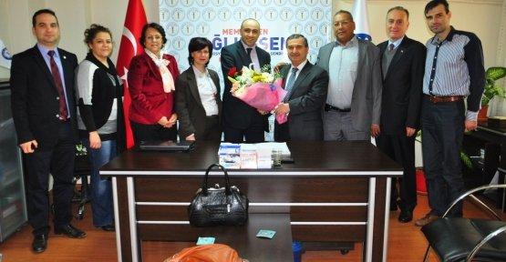 AK Parti'den Sağlık-Sen Manisa Şubesine Ziyaret