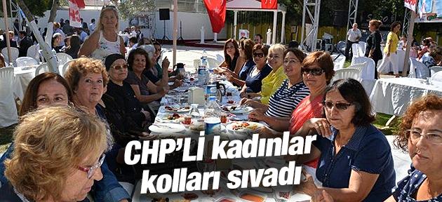 AKHİSARLI CHP'Lİ KADINLAR KOLLARI SIVADI