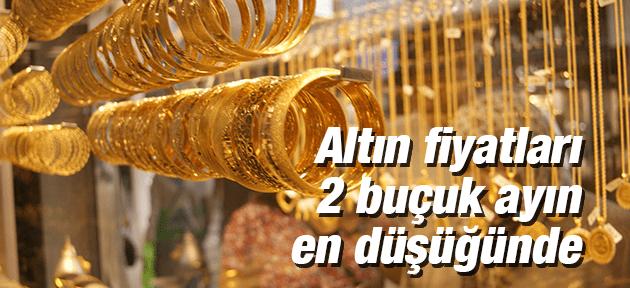Altın Fiyatları 2 Buçuk Ayın En Düşüğünde