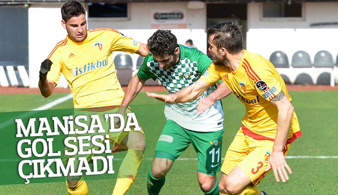 Manisa'da gol sesi çıkmadı Akhisar ile Kayseri puanları paylaştı
