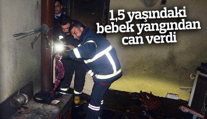 1,5 yaşındaki Buğlem bebek yanarak can verdi