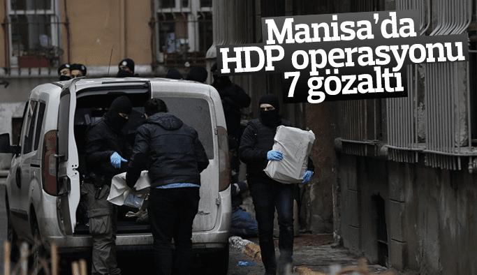 Turgutlu'da 7 HDP'liye PKK gözaltısı
