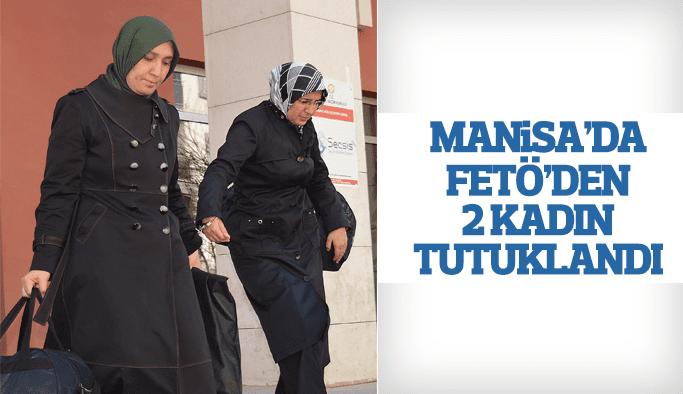 Manisa'da FETÖ operasyonu 2 tutuklama