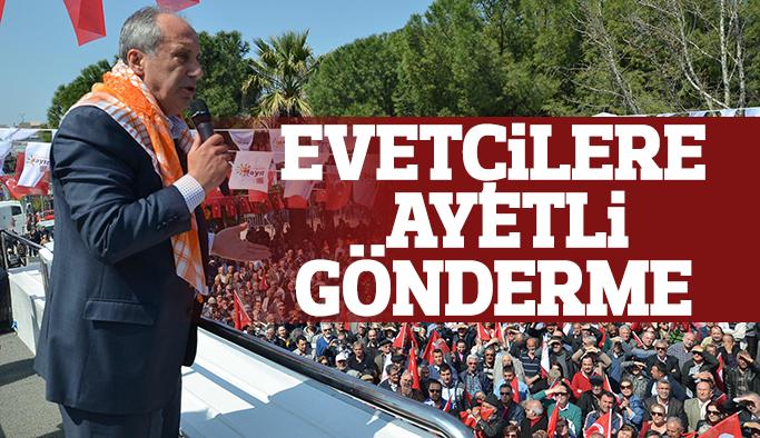 CHP'li Muharrem İnce Manisa'da konuştu