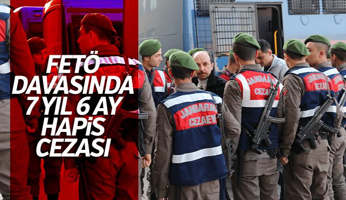 Manisa'da FETÖ sanığına 7 yıl 6 ay ceza