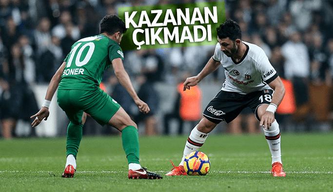 Akhisar Beşiktaş'tan puanı söktü aldı