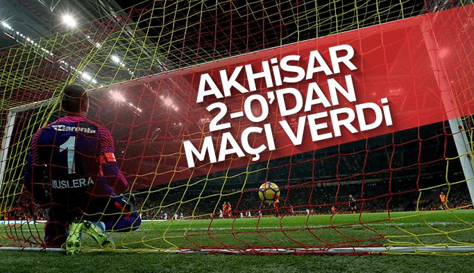 Akhisar 2-0 önde olduğu maçta Galatasaray'a kaybetti