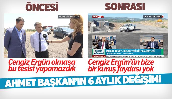 Ahmetli Belediye Başkanı Ahmet Alhan'ın 6 aylık değişimi