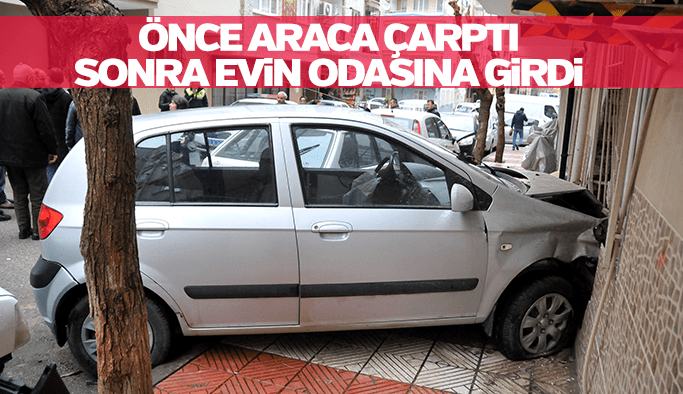 Manisa'da kadın sürücü dehşet saçtı