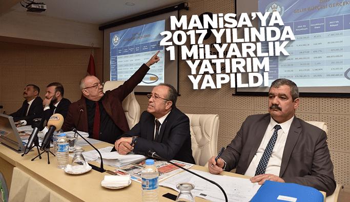Manisa'ya 2017 yılında 1 milyar liralık yatırım yapıldı