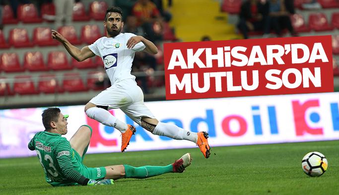 Akhisarspor Süper Lig'de kaldı