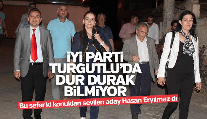İYİ Parti Turgutlu dur durak bilmiyor