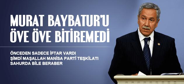 BÜLENT ARINÇ'TAN MURAT BAYBATUR'A BÜYÜK ÖVGÜ