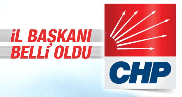 CHP'DE MANİSA İL BAŞKANI BELLİ OLDU