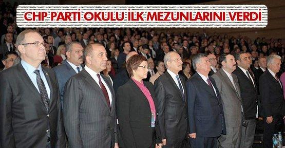 CHP'LİLER SERTİFİKA TÖRENİNDE BULUŞTU