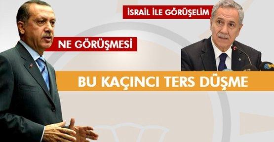 Erdoğan ile Arınç İsrail konusunda da ters düştü