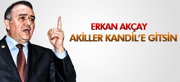 ERKAN AKÇAY AKİLLER KANDİL'E GİTSİN