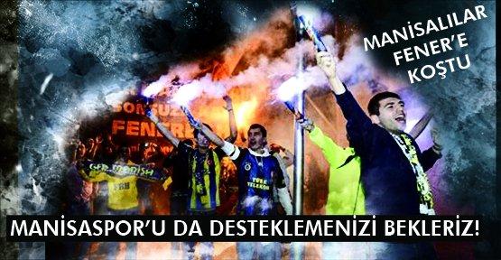 Fenerbahçe Manisa'da