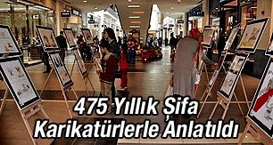475 Yıllık Şifa Karikatürlerle Anlatıldı