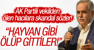 AK PARTİLİ VEKİLDEN SKANDAL SÖZLER!