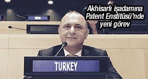 Akhisarlı işadamına Patent Enstitüsü'nde yeni görev