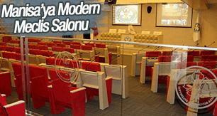 BÜYÜKŞEHİR MECLİSİ'NE MODERN SALON