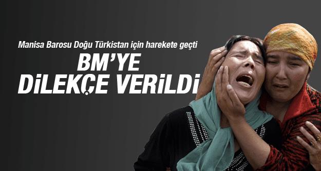 Manisa Barosu'ndan Doğu Türkistan için BM'ye dilekçe