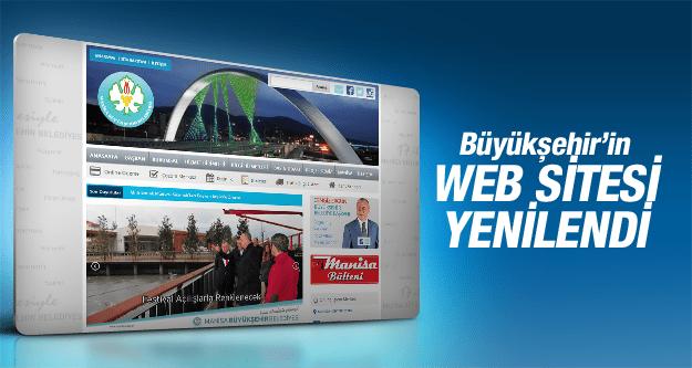 MANİSA BÜYÜKŞEHİR BELEDİYESİ'NİN WEB SİTESİ YENİLENDİ