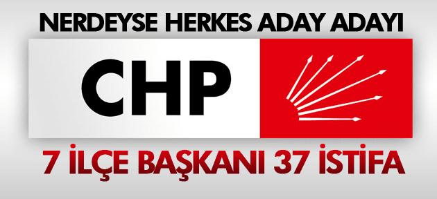 MANİSA CHP'DE ADAY ADAYLARI İSTİFA ETTİ