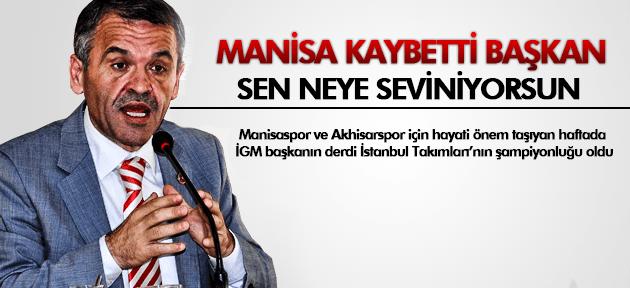 MANİSA KAYBETTİ HAYRULLAH SOLMAZ SEVİNDİ