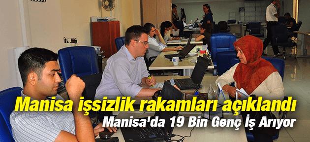 Manisa'da 19 Bin Genç İş Arıyor