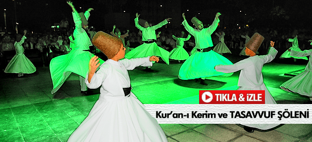 Manisa'da Kur'an ve tasavvuf şöleni