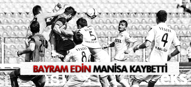 MANİSASPOR PLAY-OFF'U TEHLİKEYE ATTI