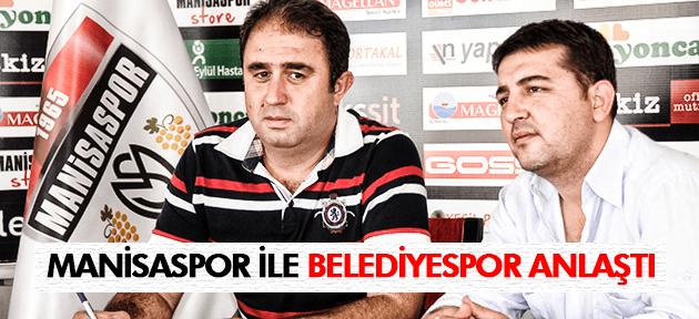 Manisaspor ve Manisa Belediyespor futbol okulları için işbirliği yaptı
