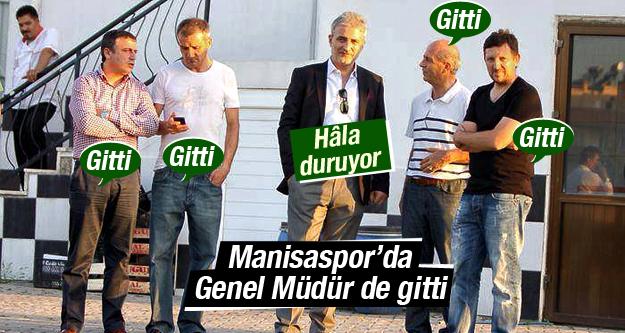 MANİSASPOR'DA GENEL MÜDÜR DE GİTTİ