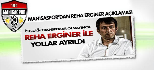 MANİSASPOR'DAN REHA ERGİNER AÇIKLAMASI