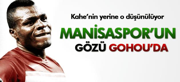 MANİSASPOR'UN GÖZÜ GOHOU'DA