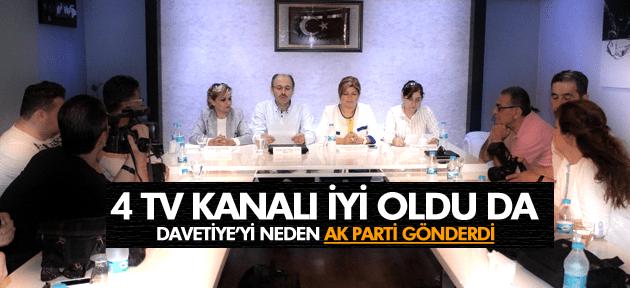 MANİSA'YA 4 YENİ TELEVİZYON KANALI DAVETİ AK PARTİ'DEN