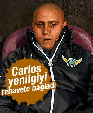 ROBERTO CARLOS TRABZONSPOR YENİLGİSİNİ REHAVETE BAĞLADI