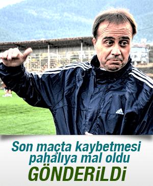 TURGUTLUSPOR, teknik direktör Selahaddin Dinçel'le yollarını ayırıdı.