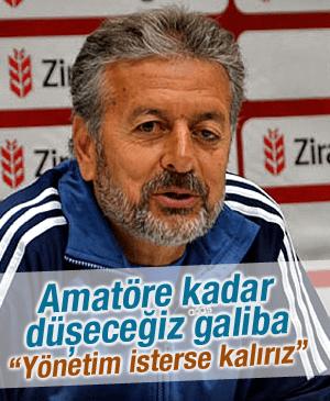 DİLAVER MUTLU YÖNETİM İSTERSE MANİSASPOR'UN BAŞINDA KALIRIZ