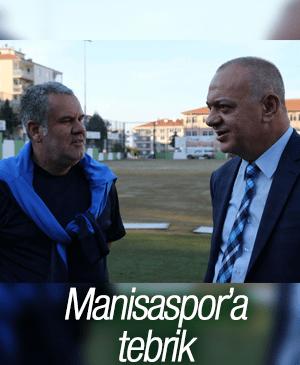 MANİSASPOR'A TEBRİK