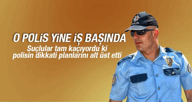 OTOGAR POLİSİ YİNE YAKALADI