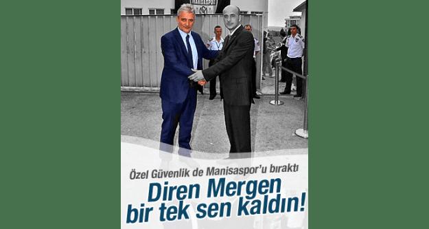 ÖZEL GÜVENLİK DE MANİSASPOR'U BIRAKTI