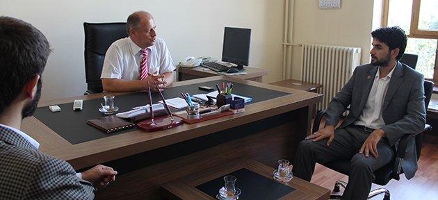 Saadet Partisi İl Yönetiminden Çorumluoğlu'na Ziyaret
