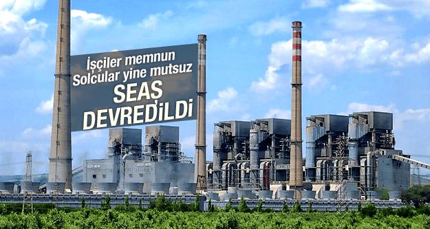 SEAŞ KONYA ŞEKER'E DEVREDİLDİ
