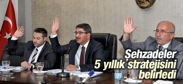 ŞEHZADELER 5 YILLIK STRATEJİSİNİ BELİRLEDİ