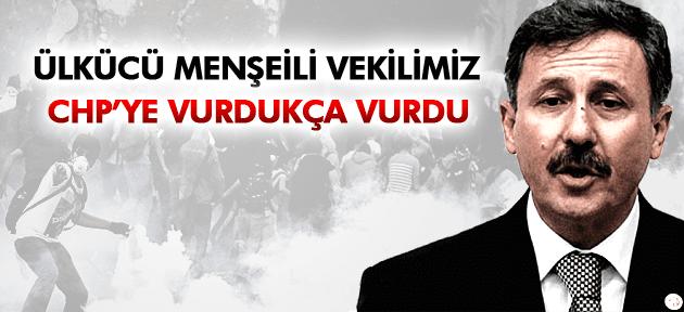 SELÇUK ÖZDAĞ GEZİ PARKI EYLEMLERİNDE CHP'Yİ SUÇLADI